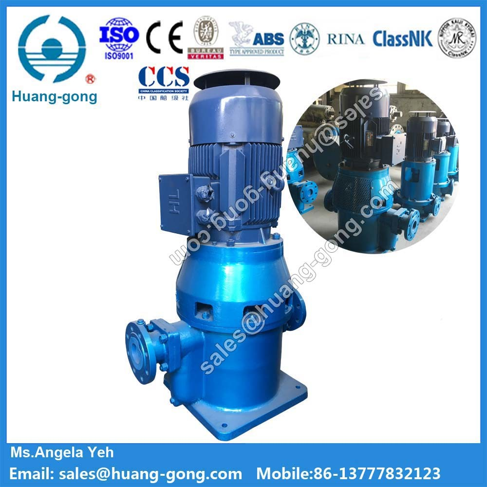 Clz Series Marine Vertical Self-Priming Centrifugal Pump 7.5HP Water Pump