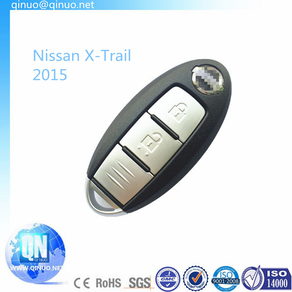 Replacement for Nissan X-Trail Car Key for Year 2014/2015 New Blank Key