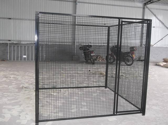 Galvanized Steel Wire Mesh Dog Kennel