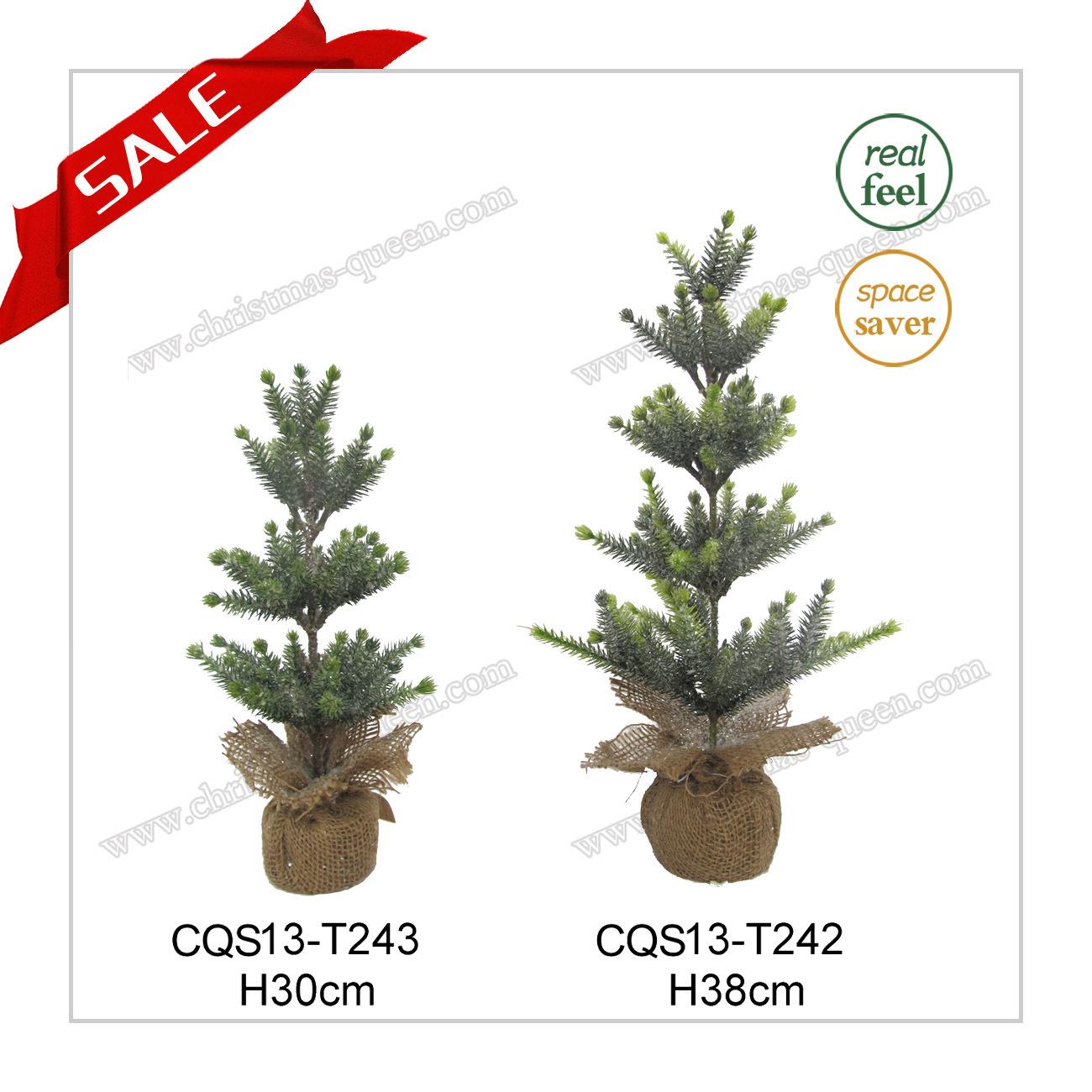 H42-53cm Popular Wedding Gift Plastic Christmas LED Light Tree