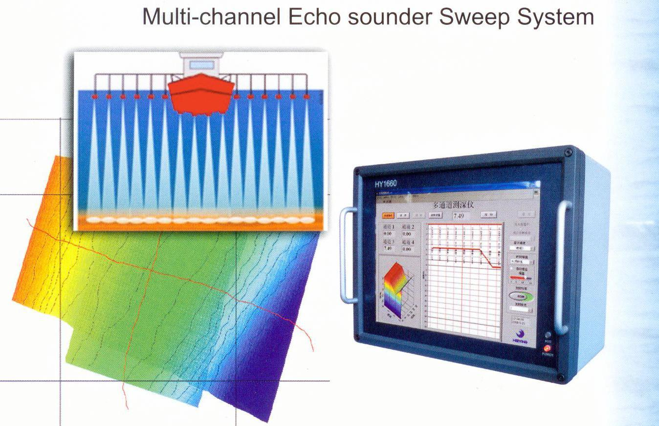 Multi-Channel Echo Sounder Sweep System (HY1660)