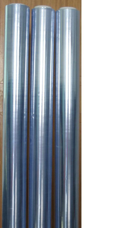 Blue Glossy Soft PVC Plastic Film