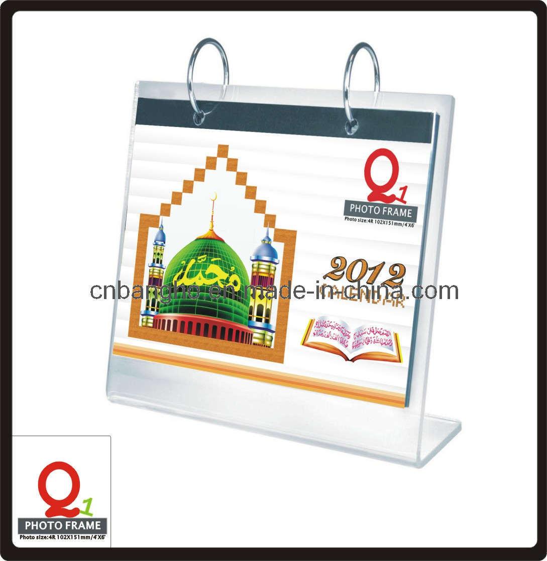 China Frame Desk Calendar - China Acrylic Table Calendar, Acrylic