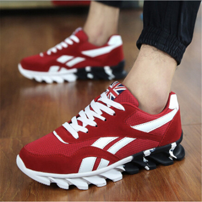 2017 Spring Summer Men′s Sneakers Breathable Sport Running Shoes