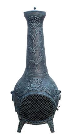 Outer Heater/ BBQ /Firepit / Cast Aluminium Chiminea (FSL012)
