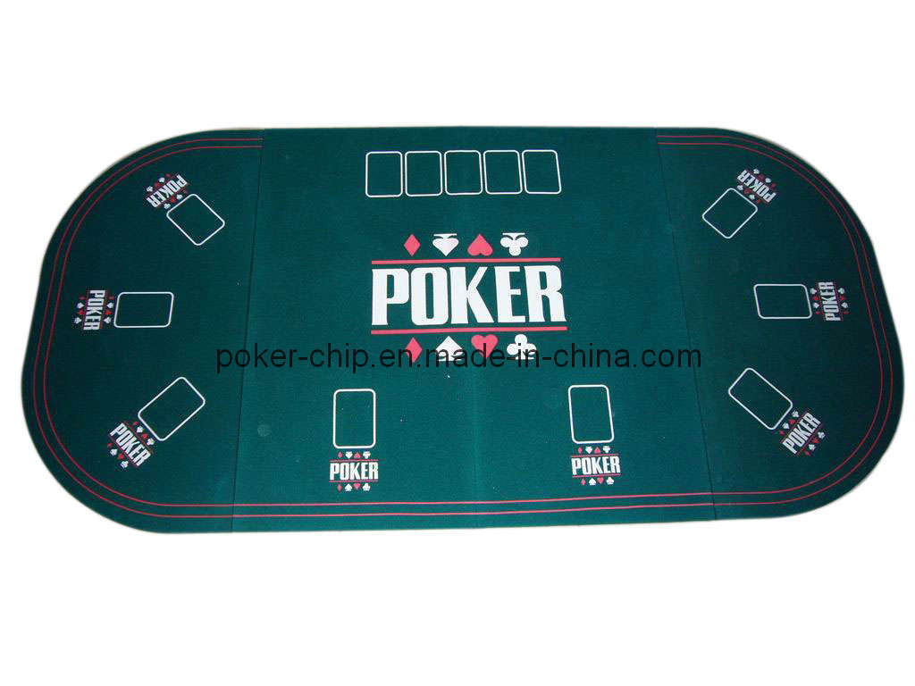 China 3 folding oval poker table top for 9 person sy t10 for 10 person poker table top