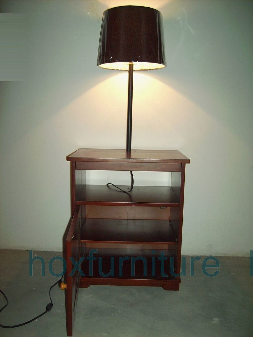 Table lamps lighting floor lamp table for Floor lamp with table