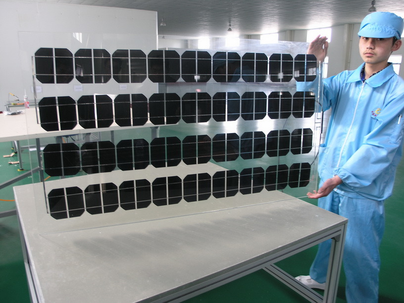 90W BIPV Double Glass Solar Panel
