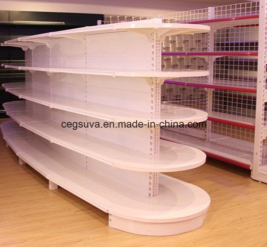 Supermarket Metal Display Retail Fixtures Shelves