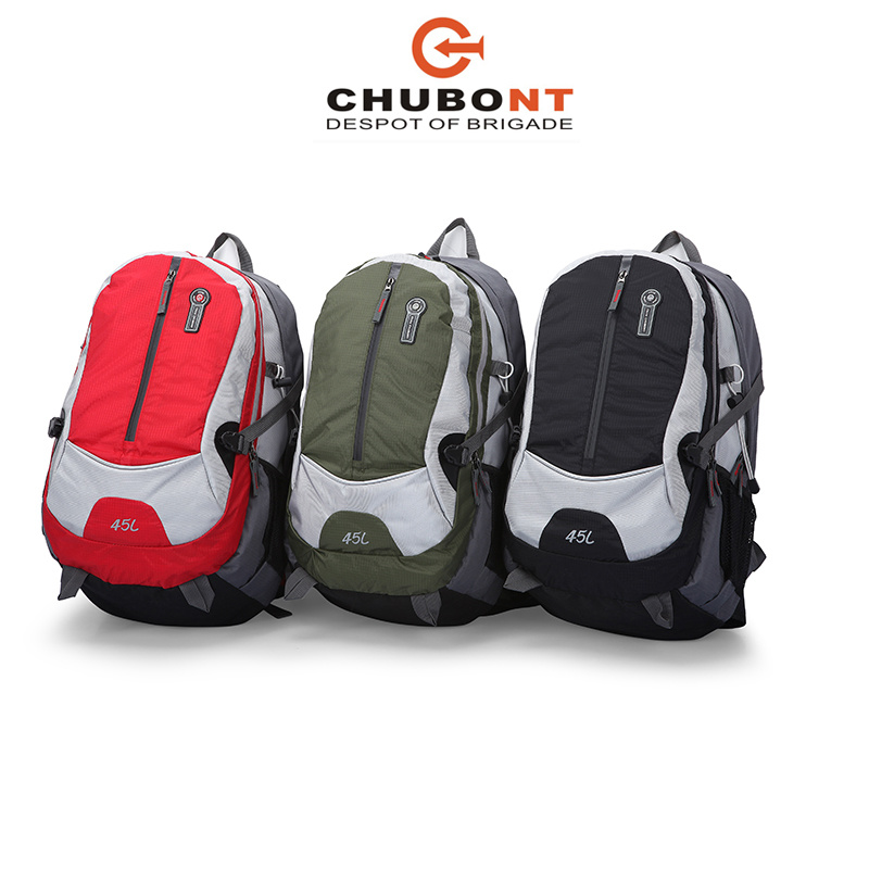 Chubont Hot Selling Waterproof High Quality Material Backpack with Ear Phone Slot