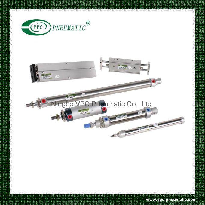 Cxsm Series Pneumatic Slide Cylinder Compact Air Cylinder