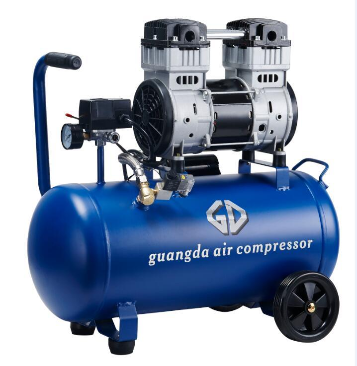 50L 1500W 2HP Oil Free and Silent Air Compressor (GDG50)