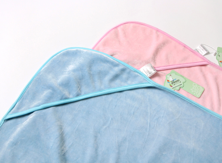 Super Quality, Baby Hooded Bath Towel Made of 70%Bamboo 30%Cotton Velour