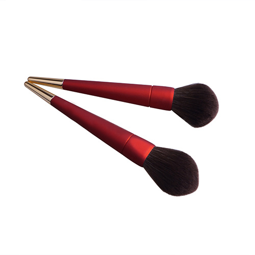 10 PCS Cosmetic Tools Red Color Frosting Makeup Brush