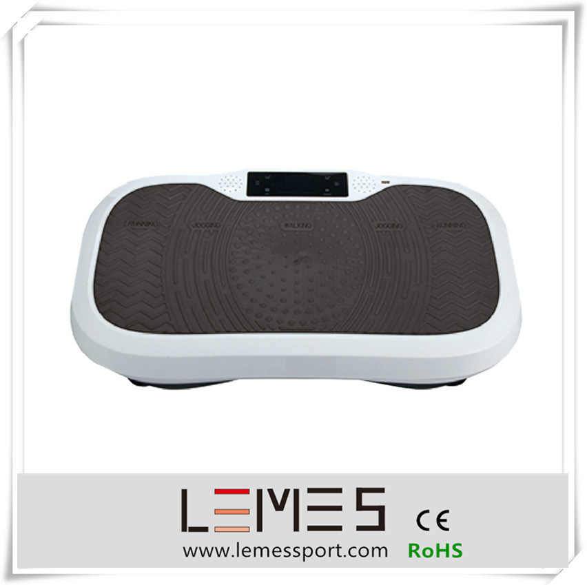 Black Color Ultrathin Slim Vibration Plate with Dual
