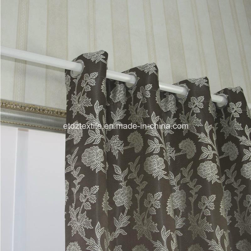 Top Trend Jacquard Flower Window Fabric Curtain