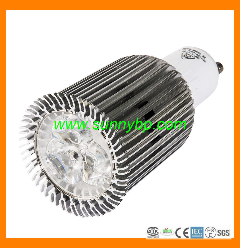 7W GU10 AC85-230V LED Spotlight