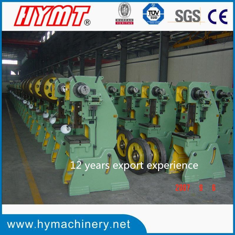 J23 series open back power press punching machine