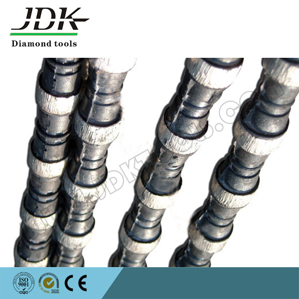 Rubber Wire Diamond Tool for Marble Quarry