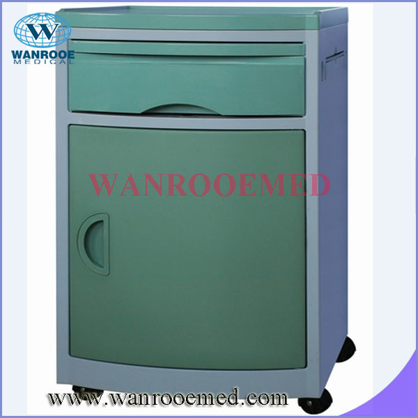Bc001/Bc002 ABS Bed Beside Cabinet with Different Colors