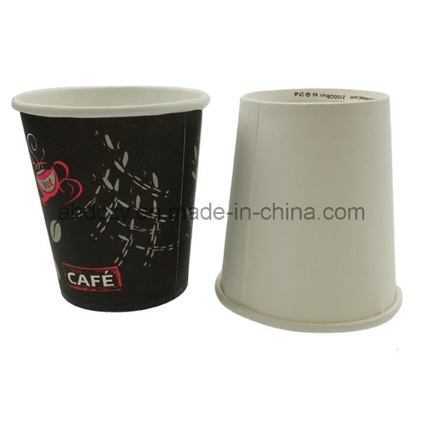 Custom Printed High Quality 7oz Disposablepaper Cups Coffee