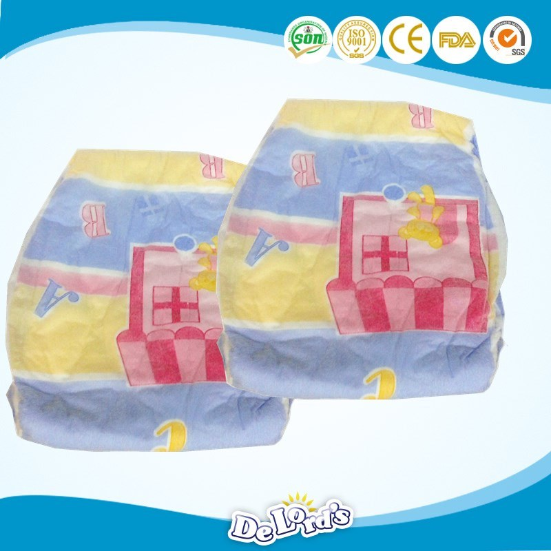 Manufacturers in China Super Absorption Disposable Diapers