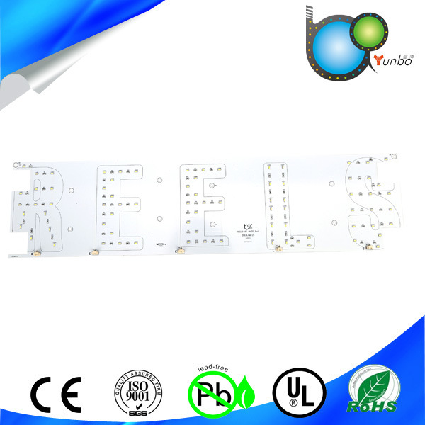 Rigid Aluminium LED PCB Board Assembly