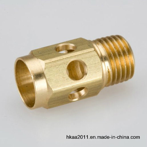 Brass Threaded Hydraulic Pipe Fitting