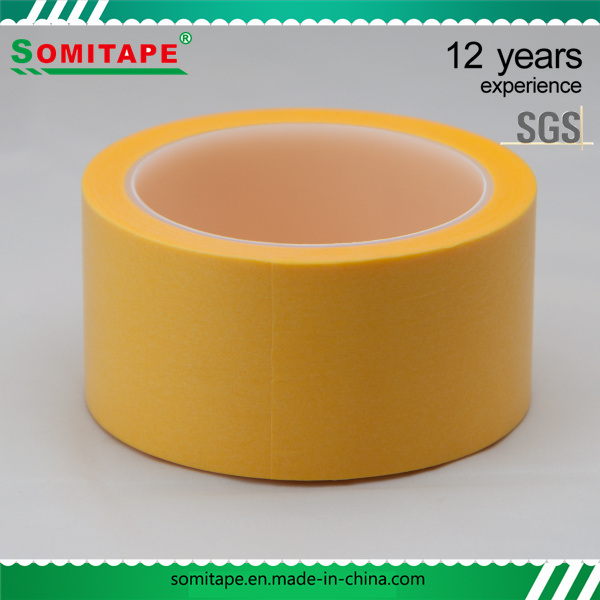Sh316 Crepe Masking Tape for Car Care Painting Masking Somitape