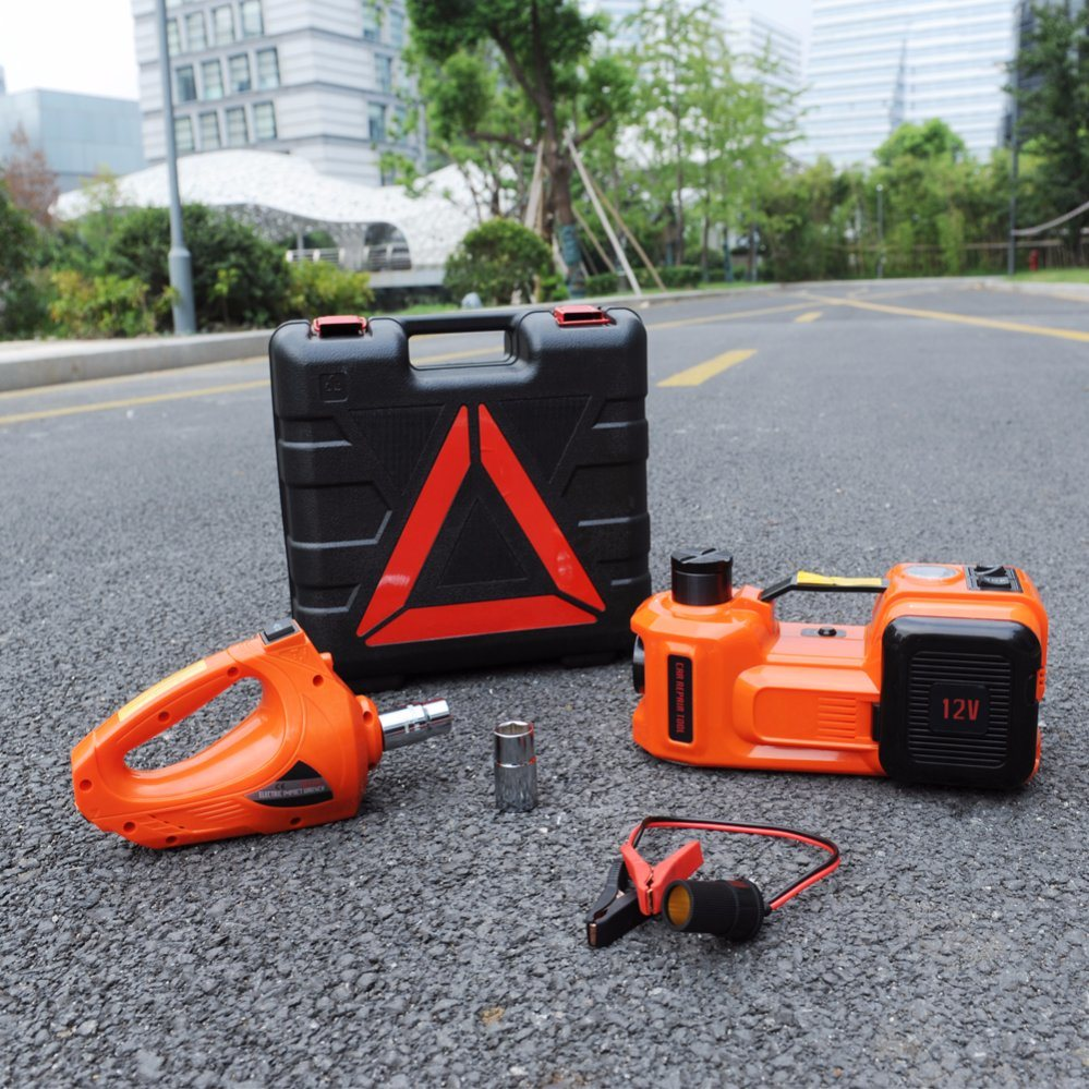 Professional Portable 12V Electric Car Hydraulic Jack Manufacturers