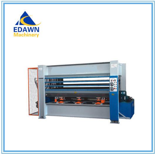 Ryj100t Model Woodworking Three Layers Hot Press Machine