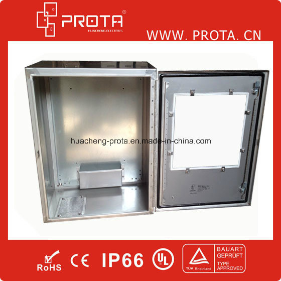 Stainless Steel Enclosure Distribution Box with Plexiglass Window