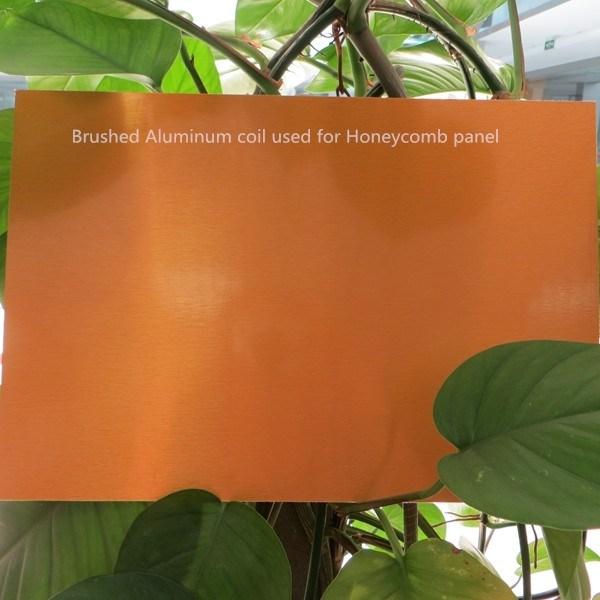 PVDF Color Coating Aluminum Sheet for Honeycomb Panel