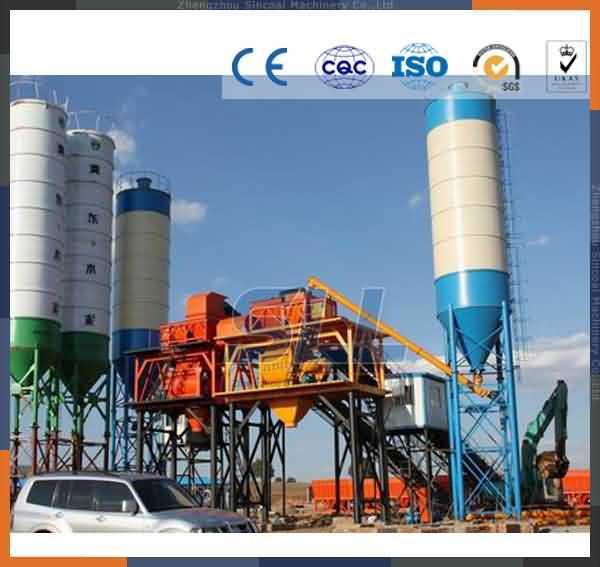 Zhengzhou Sll New Mixer Concrete Batching Plant Price Supplier