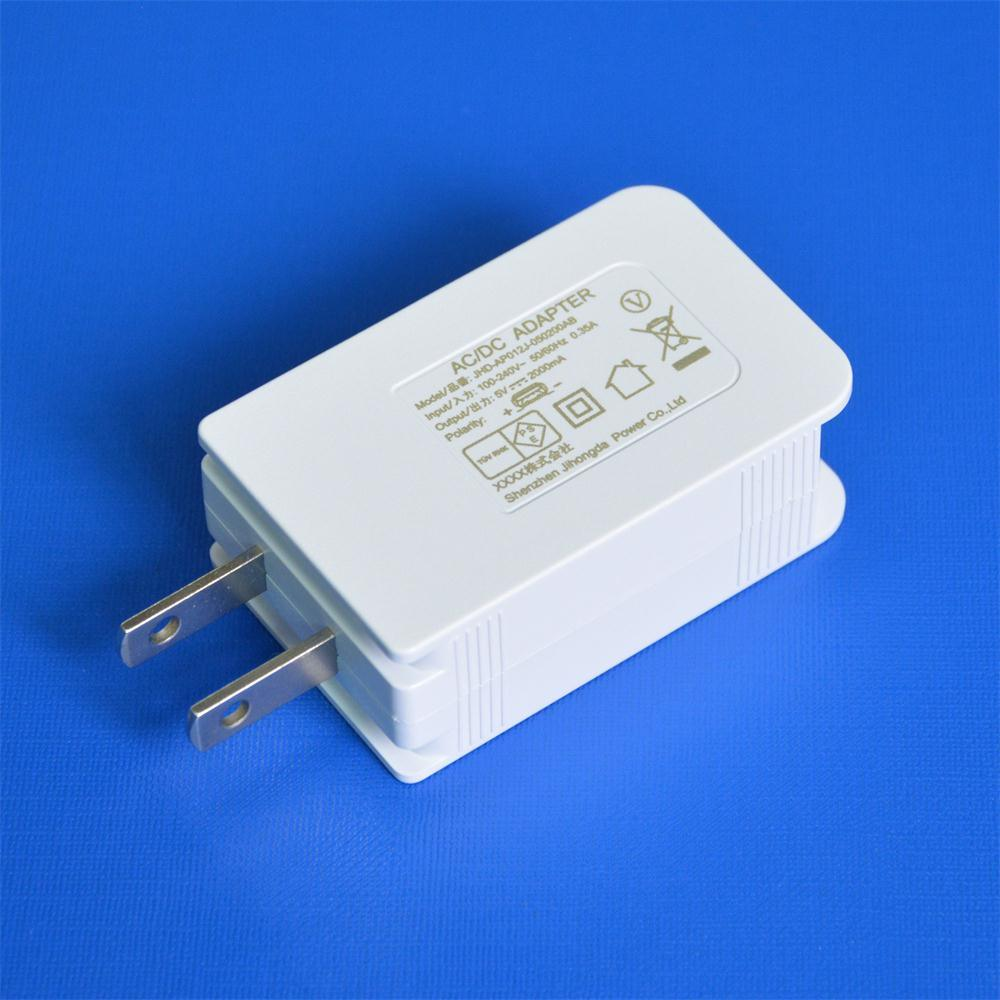 Jp Plug 5V 2A USB Power Adaptor PSE Wall Charger for Japan Market