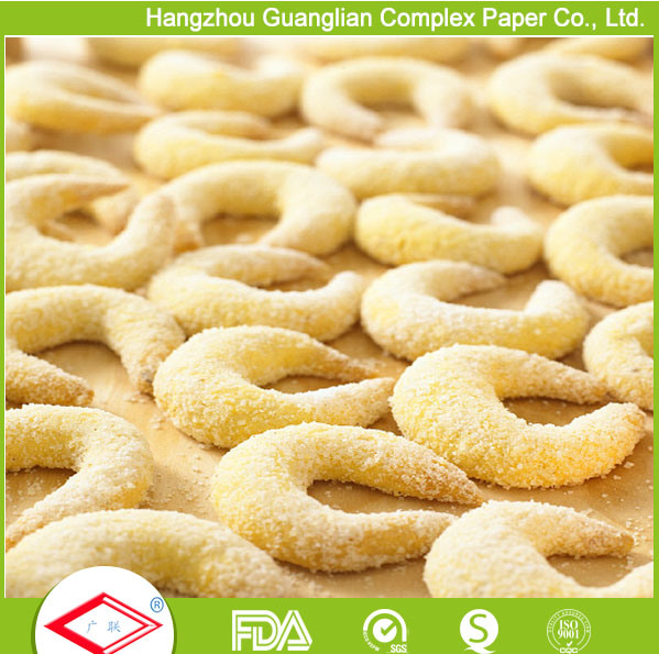 OEM Silicone Coated Non-Stick Baking and Cooking Paper in Rolls