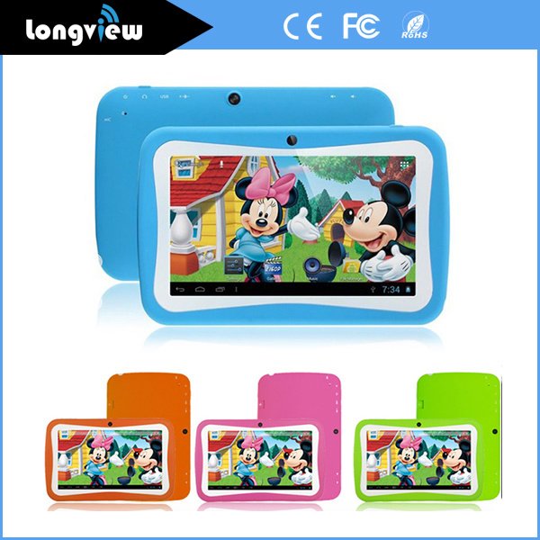 7 Inch 512MB 8GB WiFi Kids Tablet PC with Android 5.1 Rk3126 MID