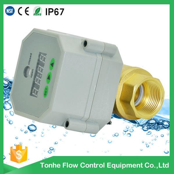 2 Way Motorized Control Drain Water Valve