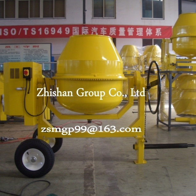 Cm280 (CM50-CM800) Zhishan Portable Electric Gasoline Diesel Concrete Mixer