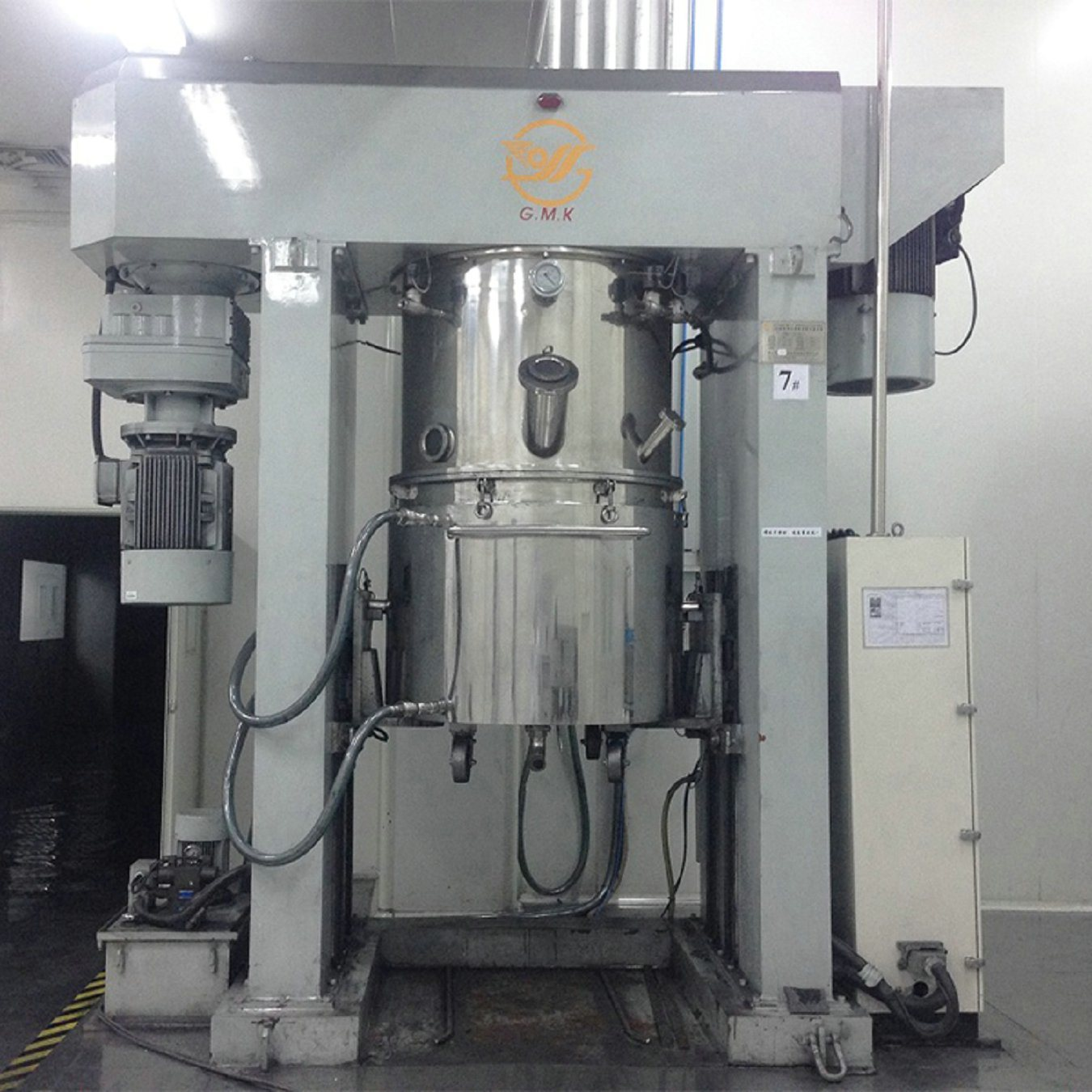 Lithium Battery 300 Lwith Disperser Double Planetary Mixer