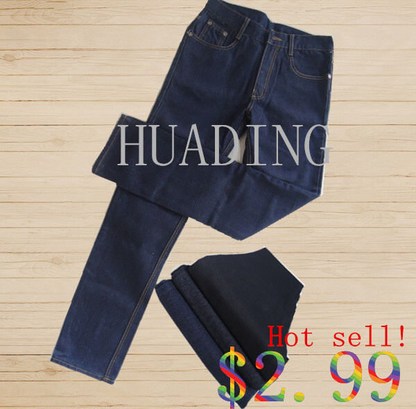 New Fashion Design Men′s Jeans with Embroidery on Waistband (HDMJ0068)