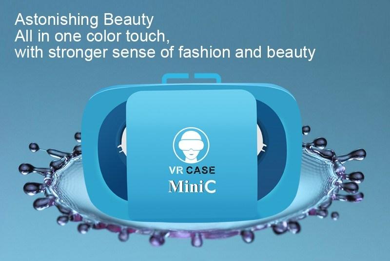 Vr0 Virtual Reality 3D Glasses for Smart Phone Black