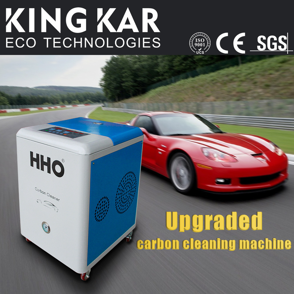 Oxy-Hydrogen Generator Machine to Clean Ultrasonic Injector