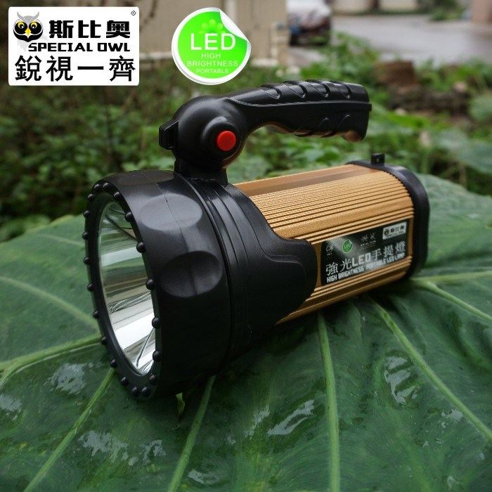 FL-12100, 2W/3W/5W, LED Flashlight/Torch, Rechargeable, Search, Portable Handheld, High Power, Explosion-Proof Search, CREE/Emergency Flashlight Light/Lamp