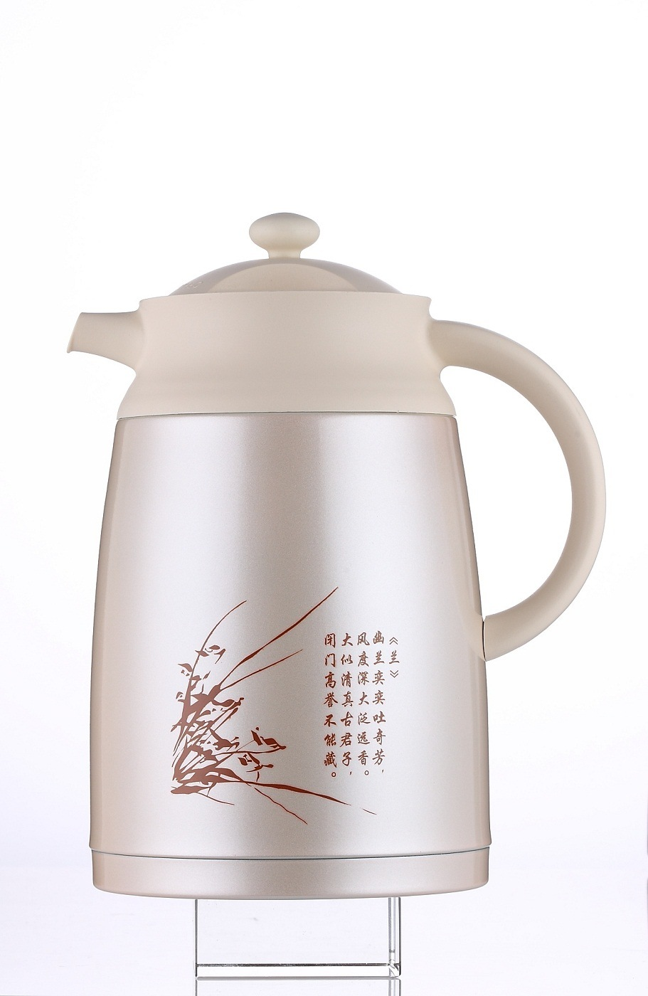 Double Wall Stainless Steel Vacuum Teapot
