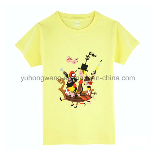 Promotion Cotton Men′s Printed T-Shirt
