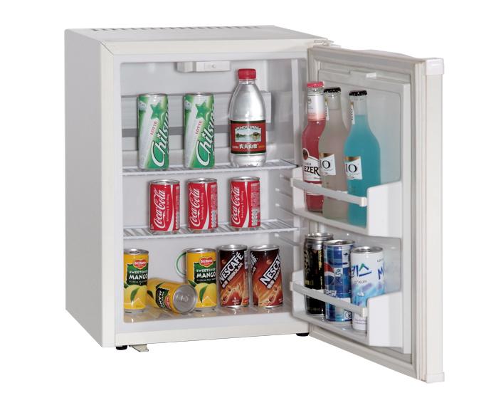 White Portable Mini Fridge with No Compressor Beverage Cooler Xc-30