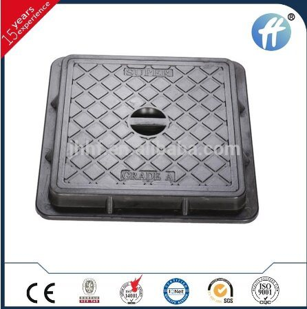 Long Life Service Road SMC Manhole Cover with Lift