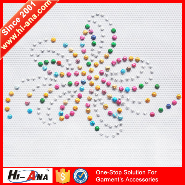 Team Race and Club Various Colors Rhinestone Sticker