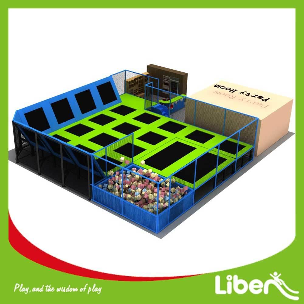 Liben Commerial Big Air Trampoline Indoor Park